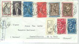 LETTER 1963  REGISTERED  CANELLI - 6. 1946-.. Republic