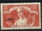 """FR YT 329 """" Au Profit Des Chômeurs Intellectuels """" 1936 Neuf* - Frankreich"""