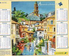 ALMANACH  DU FACTEUR  2007  EDITION   LAVIGNE NATURE  TOURISME - Calendars