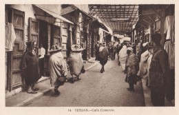 AN16 Tetuan, Calle Comercio - Animated, People - Morocco