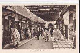 AN16 Tetuan, Calle Comercio - Busy Scene - Morocco