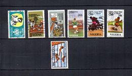 Nigeria   1979-80  .-  Y&T  Nº   367-371-373-375-376/378 - Nigeria (1961-...)