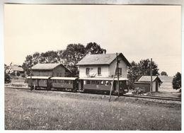 CPSM - Châtel-Saint-Denis (Suisse Canton De Fribourg) - Train Pour Remaufens - FRANCO DE PORT - FR Fribourg