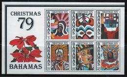 Bahamas 1979 Mini Sheet Celebrating Christmas.  This Mini Sheet Is In Mounted Mint Condition. - Bahamas (1973-...)