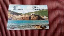 Phonecard Antiga & Barduda Chipcard 2 Scans  Used Rare - Antigua And Barbuda