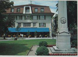 Switzerland Suisse Schweiz Cully Hotel Restaurant Major Davel Lausanne 8140 Post Card Postkarte POSTCARD - VD Vaud