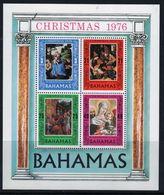 Bahamas 1976 Mini Sheet Celebrating Christmas.  This Mini Sheet Is In Mounted Mint Condition. - Bahamas (1973-...)