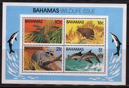 Bahamas 1982 Mini Sheet Celebrating Wildlife.  This Mini Sheet Is In Unmounted Mint Condition. - Bahamas (1973-...)