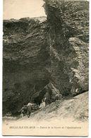 CPA - Carte Postale - France - Belle-Ile-en-Mer - Entrée De La Grotte De L'Apothicairerie (CPV1269) - Belle Ile En Mer