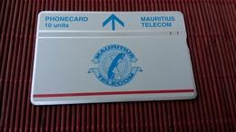 Landis & Gyr Phonecard Mauritius 509 B  Used Rare - Maurice