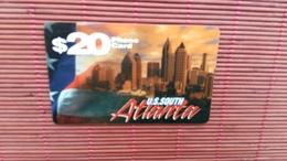 Prepaidcard 20 $ U.S.South Demo 2 Scans Rare - United States