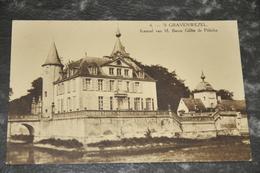 1926   's GRAVENWEZEL Kasteel Baron Gillès De Pélichy - Schilde