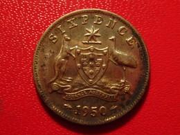 Australie - 6 Pence 1950 George VI 3767 - Moneta Pre-decimale (1910-1965)