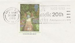 1983 GB Stamps COVER SLOGAN Pmk BRITISH PHILATELIC BULLETIN 20th Anniv, Magazine - 1952-.... (Elizabeth II)