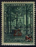 Belgie Belgien 1932 - Eupen Express Opdruk 2,50 - OBP Nr 292H** - Neufs