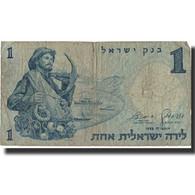 Billet, Israel, 1 Lira, 1958, 1968, KM:30b, TB - Israel