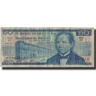 Billet, Mexique, 50 Pesos, 1976, 1976-07-08, KM:65b, TB - Mexique