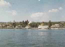OUCHY: Bateaux à L'amarrage - VD Vaud