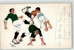 52133814 - Fussballspiel - Humor - Sign. Duda, M. - Soccer
