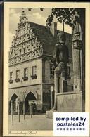 41404291 Brandenburg Havel Roland Statue Kurfuerstenhaus Bahnpost Brandenburg - Germania
