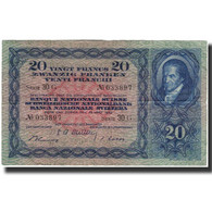 Billet, Suisse, 20 Franken, 1952-03-28, KM:39t, TTB+ - Suisse