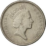 Monnaie, Grande-Bretagne, Elizabeth II, 5 Pence, 1997, TB+, Copper-nickel - 1971-… : Monnaies Décimales