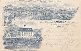 """Seewenalp - Vorläuferlitho - Mit Gummistempel """"Seewenalp"""" - 1902          (P-130-50128) - LU Lucerne"""