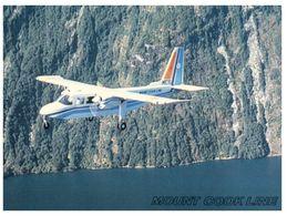 (375) Airplane From Mount Cook Airlines - Britten Norman Islander - New Zealand - 1946-....: Era Moderna