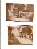 Attelage à âne - Orgue De Barbarie Ambulante - ARROMANCHES 1898 - Arromanches