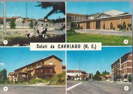 Saluti Da Cavriago - Reggio Emilia - H4180 - Reggio Nell'Emilia