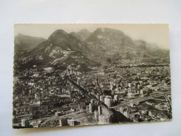 CPSM Vue Aérienne Grenoble Années 50's N°28043 - Grenoble