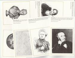 NATIONAL POSTAL MUSEUM Series SET Of 6 Postcards POST REFORM ROWLAND HILL Etc Postcard - Postal Services