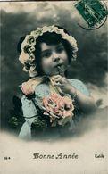"""Enfants Vœux De """"Bonne Année """"  10 Cartes Ph Noyer Rex  Pc Etc - Cartes Postales"""