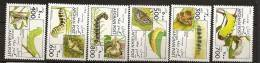 Afghanistan Afghanes 1996 N° 1494 / 9 ** Faune, Animaux, Chenilles, Papillons, Arctia Caja, Sphinx Ligustri, Zerynthia - Afghanistan