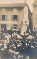 H103 - 71 - ROMANÈCHE-THORIN - Saône-et-Loire - Carte Photo - Inauguration Du Monument Aux Morts - Autres Communes