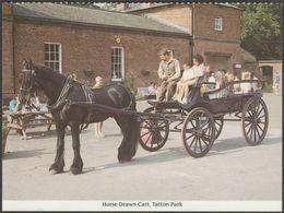 Horse Drawn Cart, Tatton Park, Knutsford, Cheshire, C.1980 - St Ann's Hospice Postcard - Sonstige