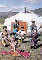 1 AK Mongolei * Folkore In Der Mongolei * - Mongolia