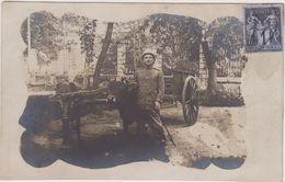 Carte Photo,asie,liban,beyrouth,beirut,militaire ,ambassade,attelage De Boeuf,1890,militaria,colonie - Libano