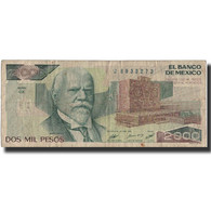 Billet, Mexique, 2000 Pesos, 1987, 1987-02-24, KM:86b, TB+ - Mexico