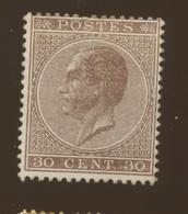 19 * Mais Expertisé Regommé Et Authentique  Cote 1150,-E - 1865-1866 Profil Gauche