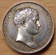 Jeton Notaire Du XIX Eme Siècle  (Napoléon Bonaparte) 1840 - Professionnels / De Société