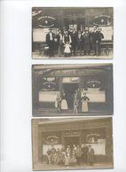 3 CARTE  PHOTO --92 BOULOGNE BILLANCOURT --CAFÉ DE L UNION DES SPORT  - RECTO/VERSO- B3 - Boulogne Billancourt