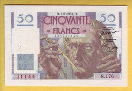 BILLET FRANCAIS - 50 Francs Le Verrier 1.2.1951 SUP - 1871-1952 Antiguos Francos Circulantes En El XX Siglo