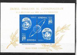 Roumanie Bloc Feuillet N°55 Espace  Neuf * * TB  MNH /VF  Soldé ....... - Space
