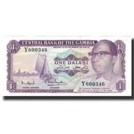 Billet, The Gambia, 1 Dalasi, UNDATED (1971-1987), KM:4g, NEUF - Gambie