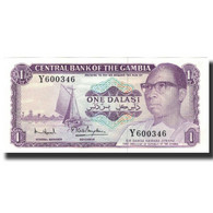 Billet, The Gambia, 1 Dalasi, UNDATED (1971-1987), KM:4g, NEUF - Gambia