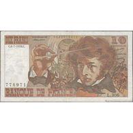 TWN - FRANCE 150c - 10 Francs 6.7.1978 778971 L.306 - Signatures: Bouchet, Tronche & Strohl - Pin Holes FINE - 10 F 1972-1978 ''Berlioz''