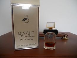 BASILE   Chez SIRPEA - Perfume Miniatures