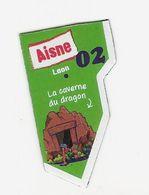Magnet Le Gaulois 02 - Aisne - Publicitaires