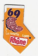 Magnet Le Gaulois 69 - Rhone - Advertising